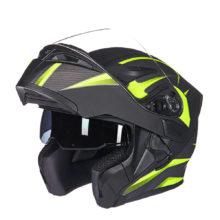 Helmet Capacete da Motocicleta Cascos Moto Casque Doublel lens Racing Riding